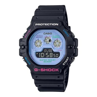 CASIO G-SHOCK DW-5900DN-1JF Psychedelic Multi Colors サイケデリックマルチカラーズ ネオンカラー デジタル メンズ 腕時計 国内正規モデル