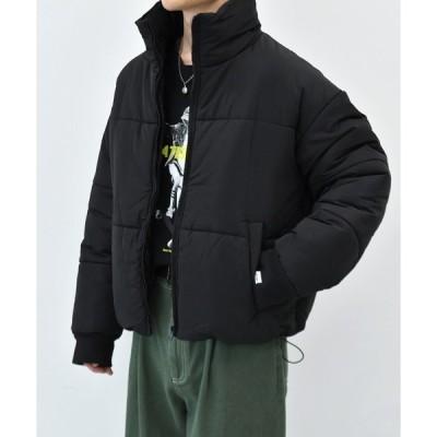 ジャケット ブルゾン 中綿ショート丈ブルゾン