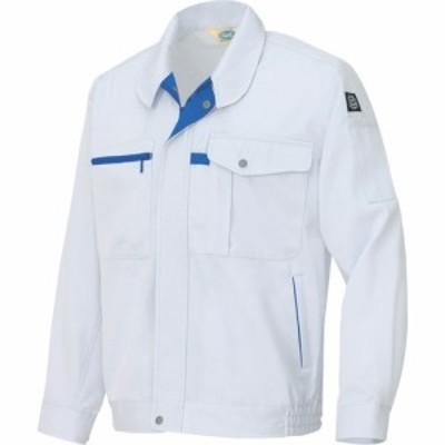 アイトス エコ交織マルチワーク 長袖ブルゾン シルバーグレー LL (1着) 品番:AZ-6360-003-LL