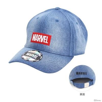 マーベル 帽子 ボックスロゴデニム柄 フリーサイズ 51005