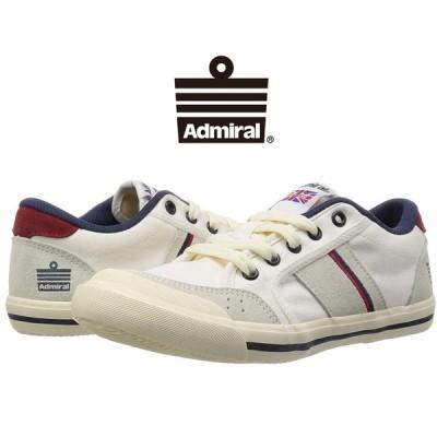アドミラル Admiral INOMER イノマー レディース シューズ 靴 ローカット キャンバス スエード SJAD1509 341004 Ivory/Navy/Red アイボリー/ネイビー/レッド