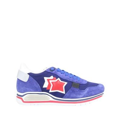 アトランティック スターズ ATLANTIC STARS スニーカー&テニスシューズ(ローカット) ブルー 40 革 / 紡績繊維 スニーカー&テニ