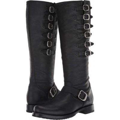 フライ Frye レディース ブーツ シューズ・靴 Veronica Belted Tall Black Washed Oiled Vintage