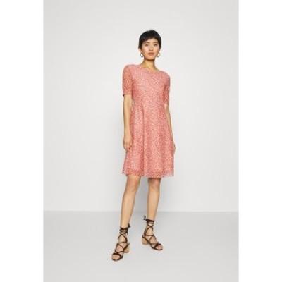 モス コペンハーゲン レディース ワンピース トップス JAVANA DRESS - Day dress - rose rose