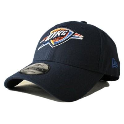 ニューエラ ストラップバックキャップ 帽子 NEW ERA 9forty メンズ レディース NBA オクラホマシティ サンダー nv