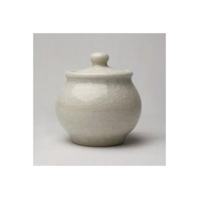 茶筒 お茶入れ 小 韓国陶磁器 白磁 調味料入れ 小物入れ 上品 韓国土産
