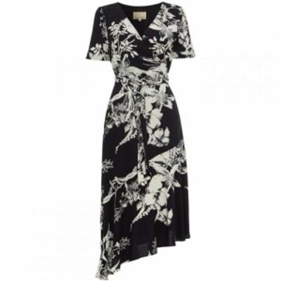 フェイズ エイト Phase Eight レディース ワンピース ラップドレス ワンピース・ドレス Evadine Printed Wrap Dress Navy