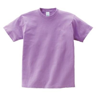 キッズ ジュニア 子供服 Tシャツ 半袖 ヘビーウェイト 5.6オンス 無地 ライトパープル 150cm サイズ 085-CVT