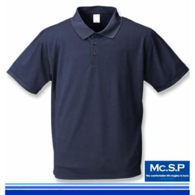 大きいサイズ Mc.S.P DRYハニカムメッシュ半袖ポロシャツ 3L 4L 5L 6L 8L/1158-7555-3-29