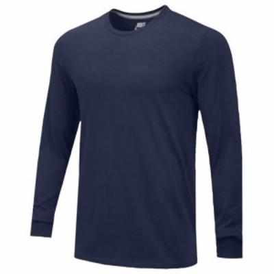(取寄)ナイキ メンズ チーム コア ロングスリーブ Tシャツ Nike Men's Team Core L/S T-Shirt College Navy