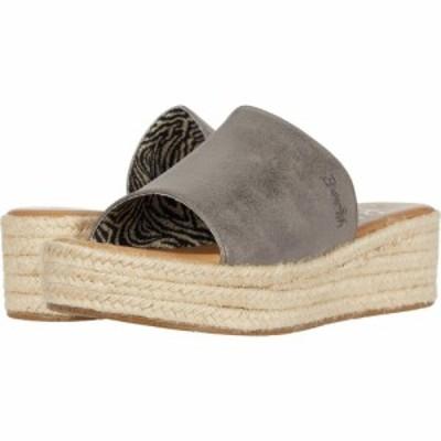 ブローフィッシュ Blowfish レディース サンダル・ミュール シューズ・靴 Leigh Pewter Meteorite Metallic