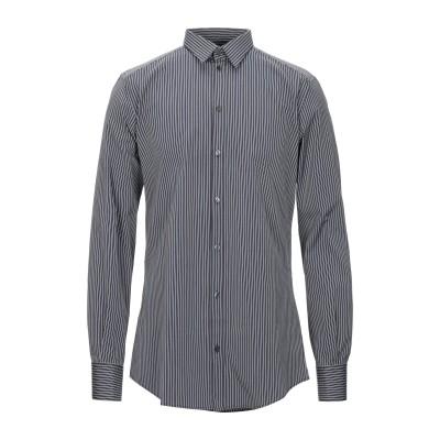 ドルチェ & ガッバーナ DOLCE & GABBANA シャツ ブラック 37 コットン 100% シャツ