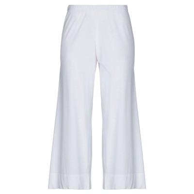 NEERA パンツ ホワイト 42 レーヨン 83% / ポリウレタン 17% パンツ