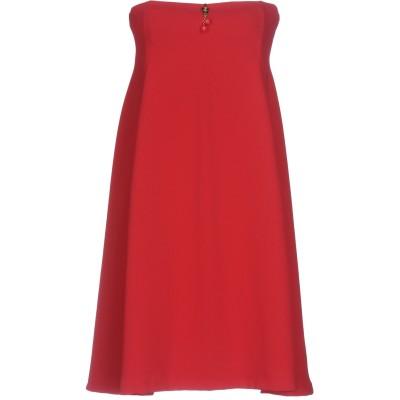 ELISABETTA FRANCHI MUMMY ミニワンピース&ドレス レッド 40 ポリエステル 100% ミニワンピース&ドレス