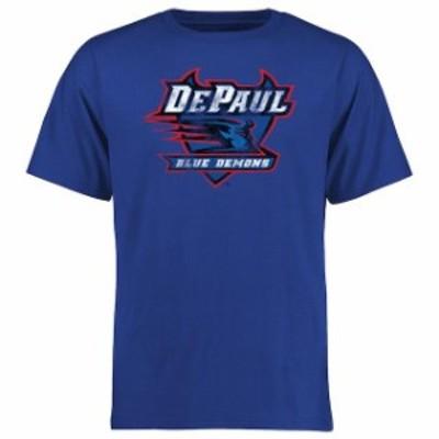 Fanatics Branded ファナティクス ブランド スポーツ用品  DePaul Blue Demons Blue Big & Tall Classic Primary T-Shi