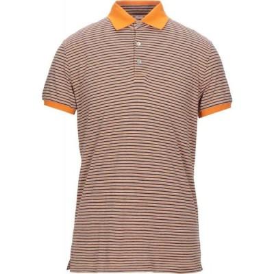 フェデーリ FEDELI メンズ ポロシャツ トップス polo shirt Orange