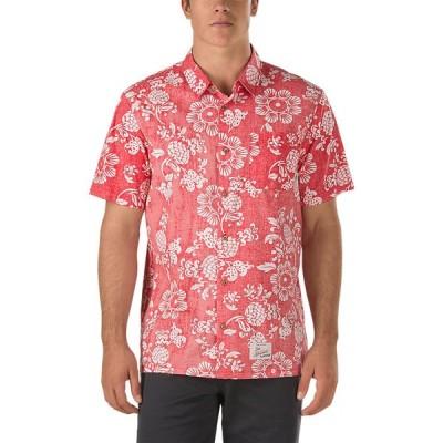 VANS / バンズ 50TH DUKE ALOHA SHIRT 半袖シャツ REINVENT RED 50周年 DUKE KAHANAMOKU ハワイアン アロハシャツ