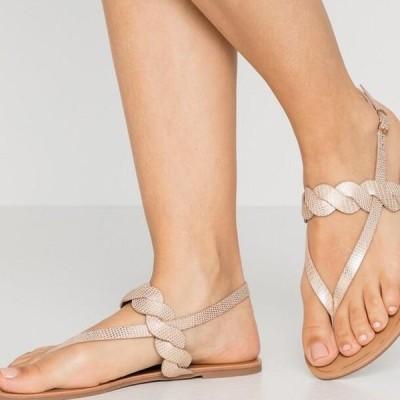 アンナフィールド レディース 靴 シューズ T-bar sandals - rose-gold