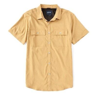 プラーナ メンズ シャツ トップス Garvan Performance Stretch Short-Sleeve Woven Shirt