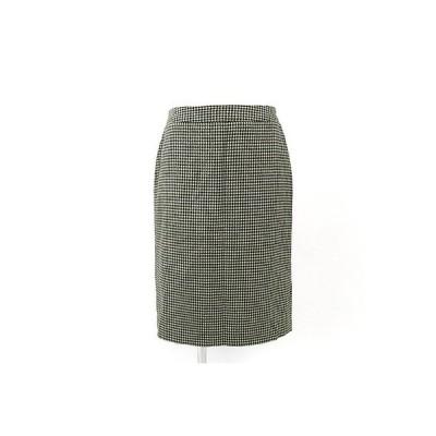 ビアッジョブルー(Viaggio Blu)黒×白千鳥格子スカート