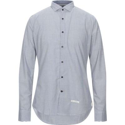アレッサンドロラムーラ ALESSANDRO LAMURA メンズ シャツ トップス Patterned Shirt Blue