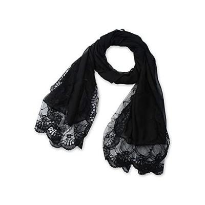 【送料無料】Corciova ACCESSORY レディース スカーフ US サイズ: One Size カラー: ブラック【並行輸入品】