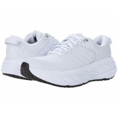 Hoka One One ホカオネオネ レディース 女性用 シューズ 靴 スニーカー 運動靴 Bondi SR White【送料無料】