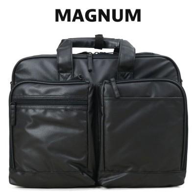 ビジネスバッグ メンズ A4 B4 ブリーフケース ブランド 斜めがけ 2Way MAGNUM マグナム ノートPC対応 撥水