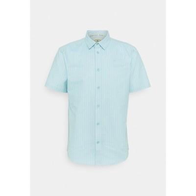 ニューポートベイサイリングクラブ シャツ メンズ トップス CORE STRIPE SHIRT - Shirt - pale blue