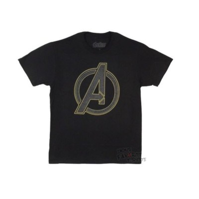 Tシャツ マーベルコミック Avengers Outer Logo Marvel Comics Licensed Adult T Shirt