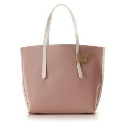 カラーズ&シュエット 配色トートバッグ ピンク