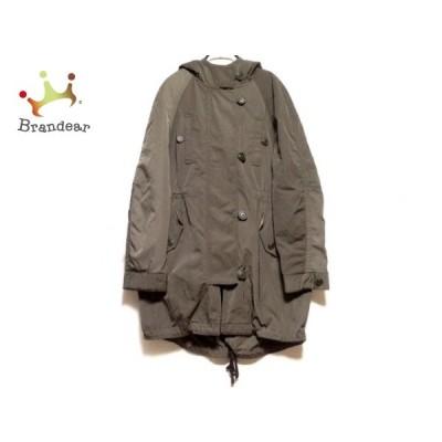 プラステ PLS+T(PLST) ダウンコート サイズ2 M レディース - カーキ 長袖/冬   スペシャル特価 20210403