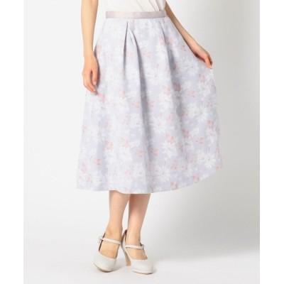 MISCH MASCH / ジャガード花柄フレアスカート WOMEN スカート > スカート