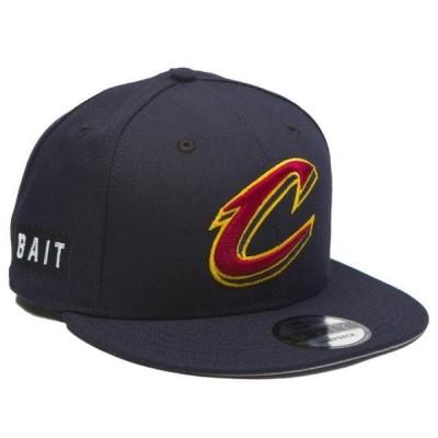 ユニセックス 帽子 キャップ BAIT x NBA X New Era 9Fifty Cleveland Cavaliers OTC Snapback Cap (navy)