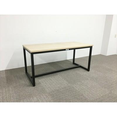 ミーティングテーブル 完成品 アスプルンド ブラックフレームテーブル  中古 TM-840669B