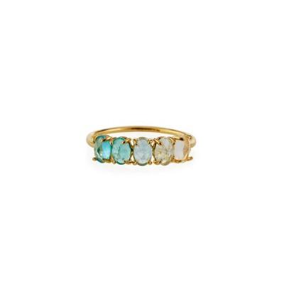 タイ レディース 指輪 アクセサリー Birthstone Rock Crystal Ring, Size 6 & 7