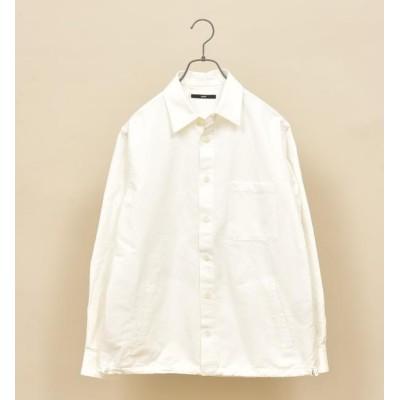 【シップス/SHIPS】 SU: コットン/リネン ドローストリング シャツ ブルゾン