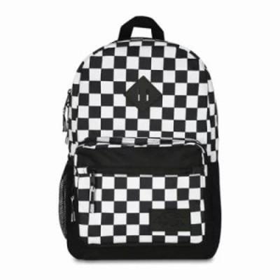 ディッキーズ バックパック・リュック Study Hall Backpack Black/White Check