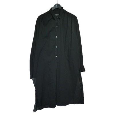 Plage 2020SS ロングシャツ ブラック サイズ:Free (栄店) 201025