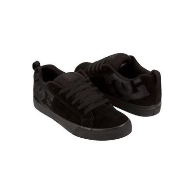 メンズ シューズアスレチックDC - COURT VULC SE メンズ スケート シューズ サイズ 9 ブラック スケート Footwear!