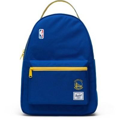 ハーシェルサプライ メンズ バックパック・リュックサック バッグ Golden State Warriors Herschel Supply Co. Nova Mid-Size Backpack