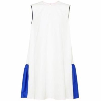 ロクサンダ Roksanda レディース ワンピース ノースリーブ ワンピース・ドレス sleeveless cotton dress Ivory/Cobalt/Rose
