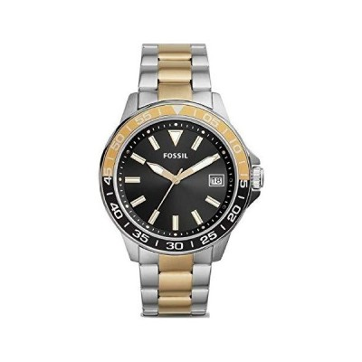Fossil Bannon BQ2507 腕時計 3針 日付 ゴールドトーン ステンレススチール[並行輸入品]