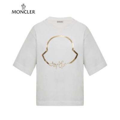 Moncler T-shirt white Ladys 2020SS モンクレール Tシャツ ホワイト レディース 2020年春夏新作