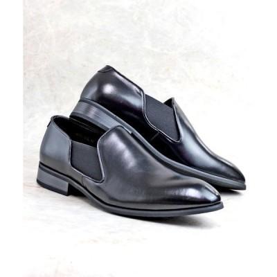 ブーツ MADE IN JAPAN 履いた時のシルエットがきれいなサイドゴアスリッポンシューズ