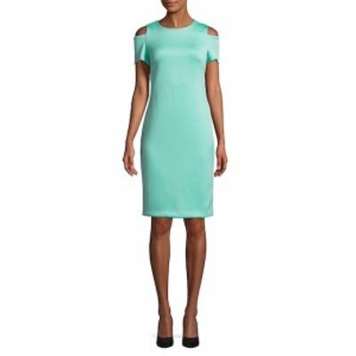 カルバンクライン レディース ワンピース Cold Shoulder Dress