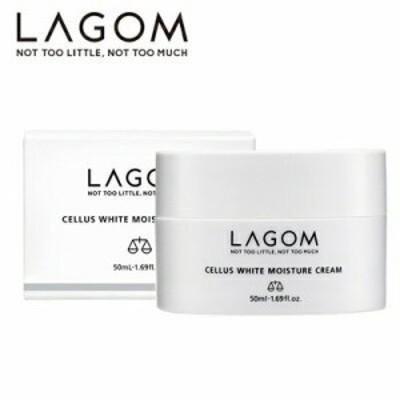 【国内正規品】LAGOM ラゴム ホワイトモイスチャー クリーム 50mL 送料無料 保湿 乾燥 透明感 韓国コスメ