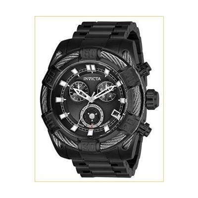 Invicta Men's Bolt Quartz Watch with Stainless Steel Strap, Black, 26 (Model: 26995) 並行輸入品