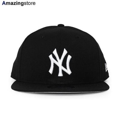 ニューエラ 9FIFTY スナップバック キャップ ニューヨーク ヤンキース 【MLB TEAM-BASIC SNAPBACK CAP/BLACK-WHITE】 NEW ERA NEW YORK YANKEES