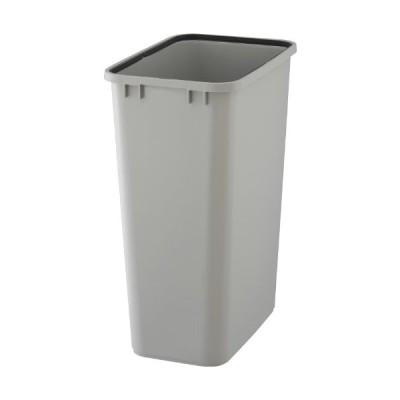 リス ゴミ箱 『使い易い角型ゴミ容器』 ベルク90S 90L用 本体 ライトグレー